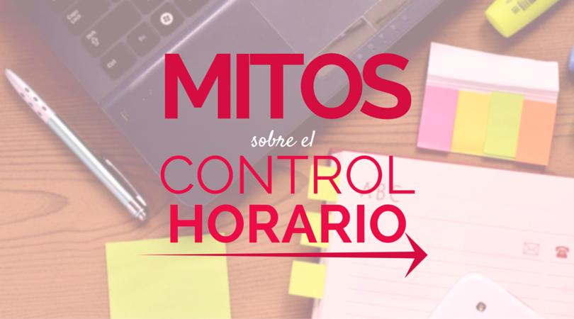 Mitos control horario