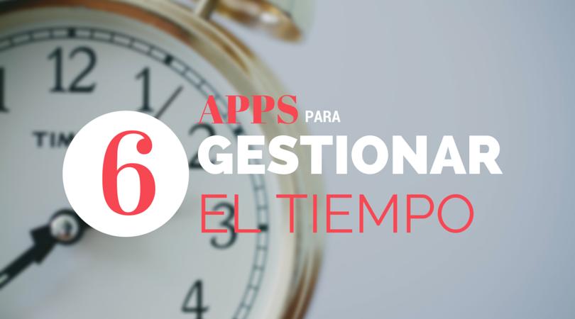 Gestión de tiempo apps
