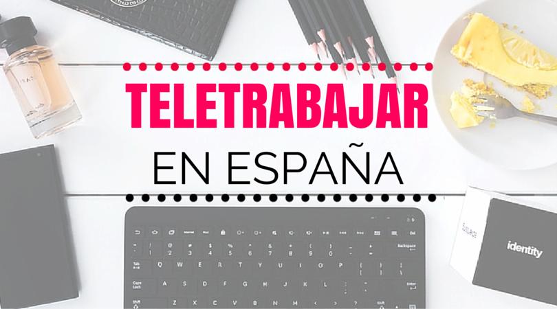 teletrabajo España