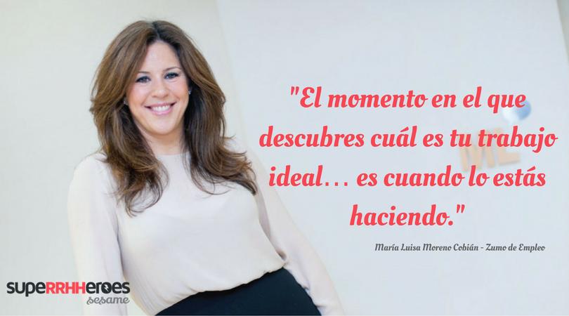 """María Luisa: """"Abogo por que la gente pueda gestionar de una manera más flexible su vida y sus necesidades."""""""