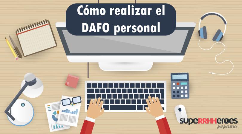 ¿Cómo usar el DAFO personal?