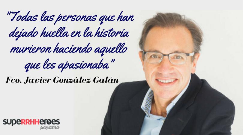 """Fco Javier González Galán: """"No gestionamos tiempo, sino prioridades."""""""
