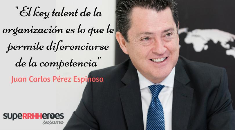 """Juan Carlos Pérez Espinosa: """"El nuevo modelo laboral debe valorar a las personas por lo que aportan"""""""