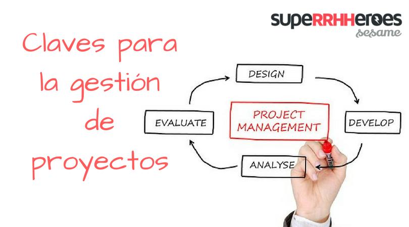 5 Pasos para la gestión de proyectos