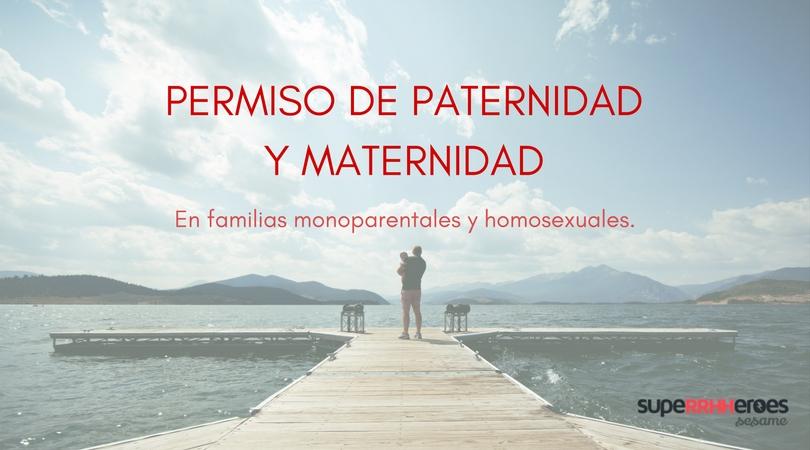 Permiso maternidad: familia monoparental y homosexual