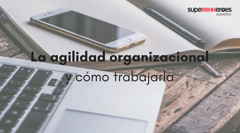 La agilidad organizacional y cómo trabajarla