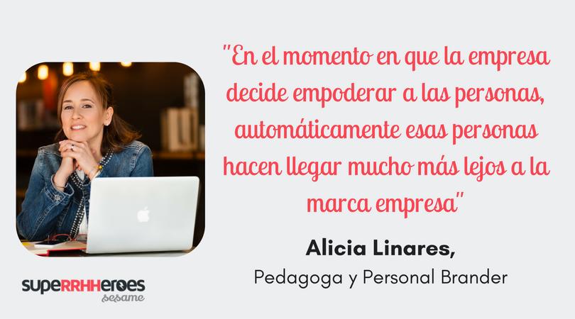 """Alicia Linares: """"La marca personal es el talento hecho y dicho con la pasión de quien dirige su propia vida"""""""