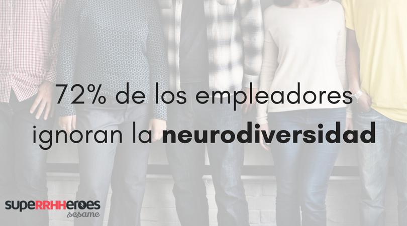 72% de los empleadores ignoran la neurodiversidad