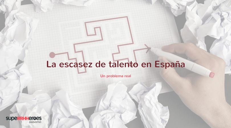 La escasez de talento, un problema en España