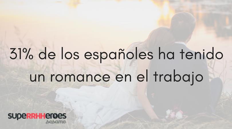 31% de los españoles ha tenido un romance en el trabajo