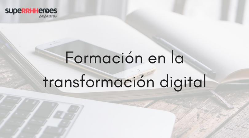 Formación en la transformación digital