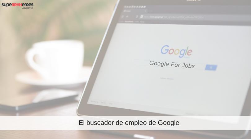 El buscador de empleo de Google