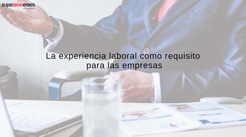 Las ofertas de empleo exigen más de 3 años de experiencia