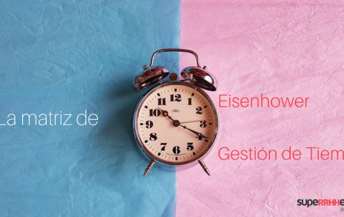 matriz eisenhower o gestion de tiempo