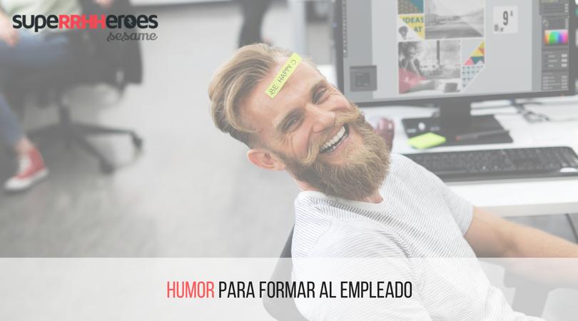 El humor en la formación de los empleados