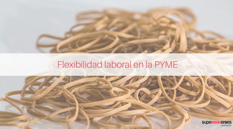 Flexibilidad horaria en una PYME