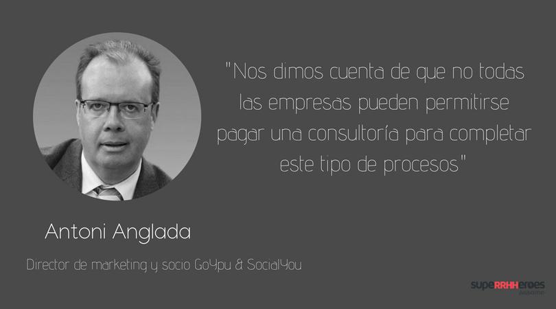 """Antoni Anglada: """"GoYou supone un ahorro de tiempo enorme"""""""