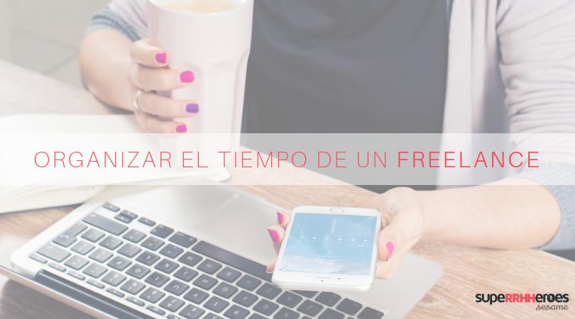 Organizar la jornada laboral para freelance
