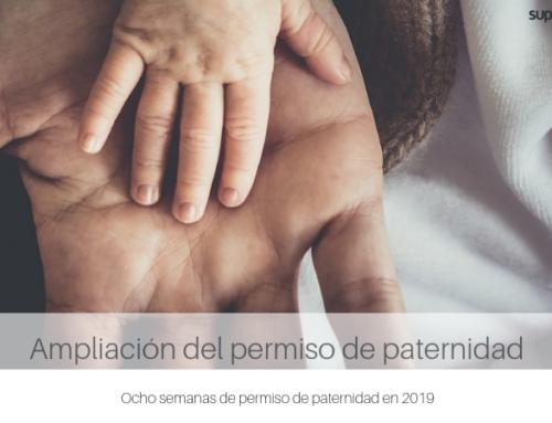 8 semanas de permiso de paternidad en 2019