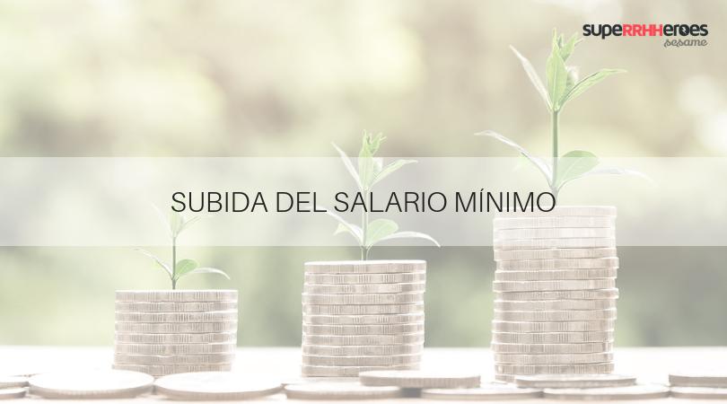 Subida del Salario Mínimo Interprofeisonal