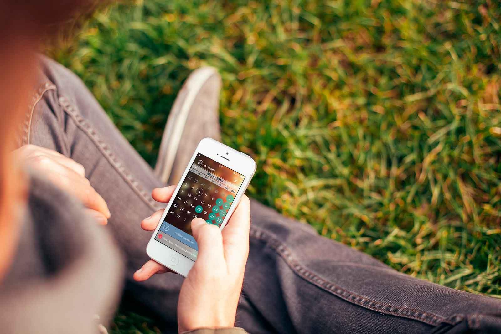 app para la gestion de vacaciones en recursos humanos